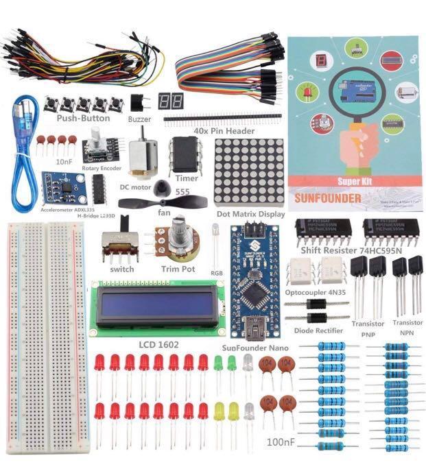 SunFounder New Nano Project Super Starter Kit V2 0 For
