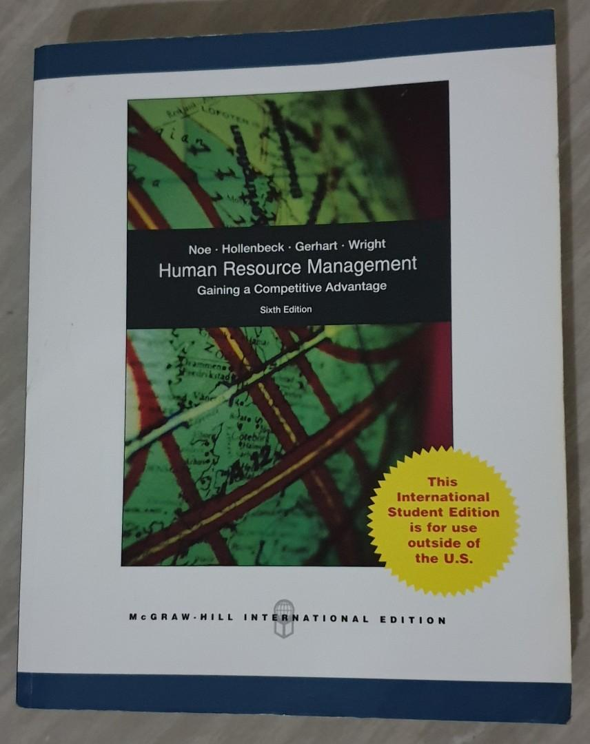 Textbook Original Bahasa Inggris 'Human Resources Management' 6th International Edition (Pre-Owned)