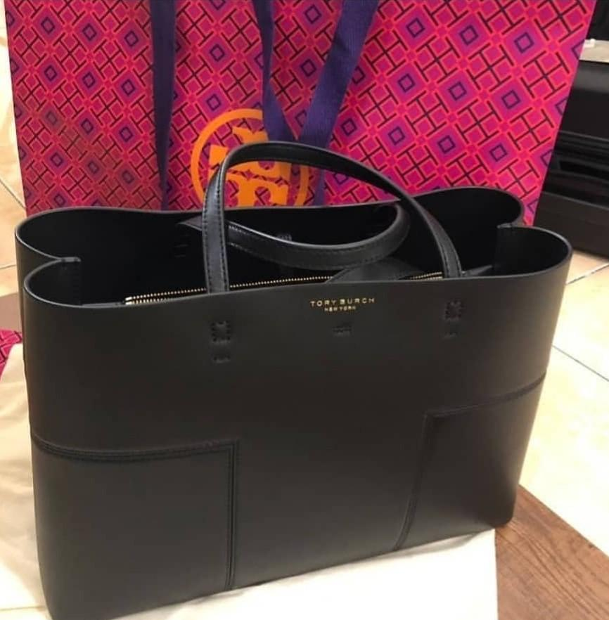 Tory burch t block triple compartment