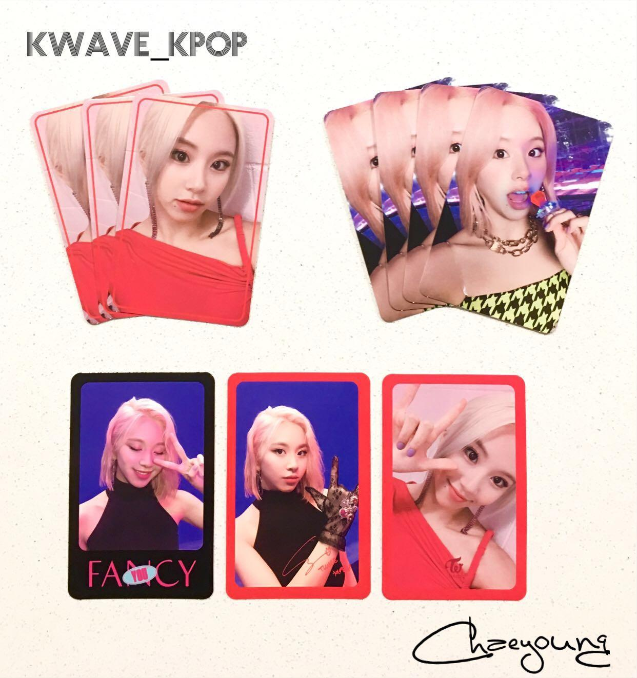 ✨TWICE FANCY YOU✨ MEMBER CHAEYOUNG Official Photo Card (Select Design)
