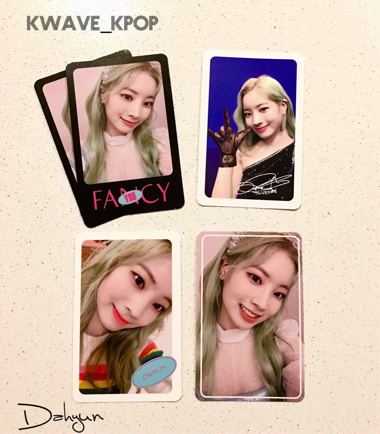 ✨TWICE FANCY YOU✨ MEMBER DAHYUN Official Photo Card (Select Design)