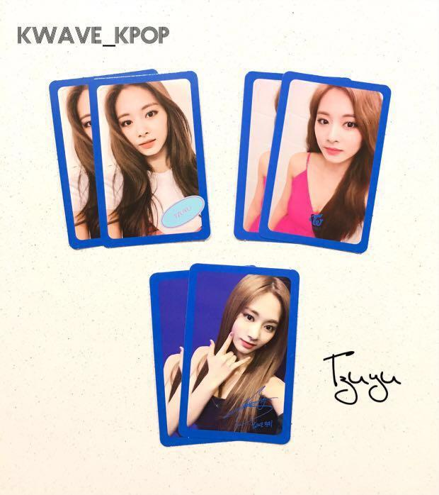 ✨TWICE FANCY YOU✨ MEMBER TZUYU Official Photo Card (Select Design)