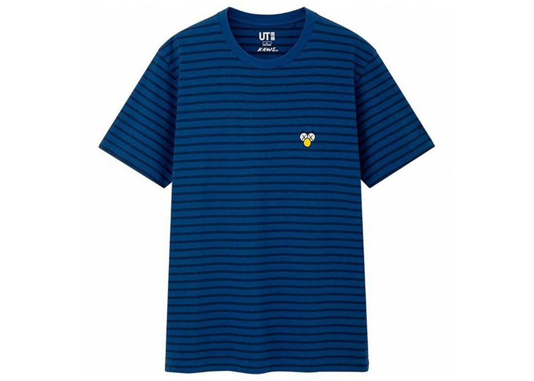 Uniqlo UT x KAWS Blue Strip