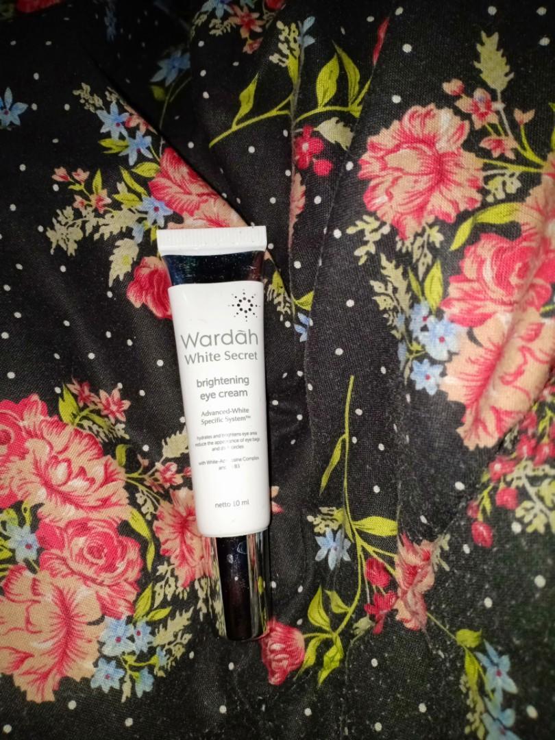 Wardah White Secret eye cream