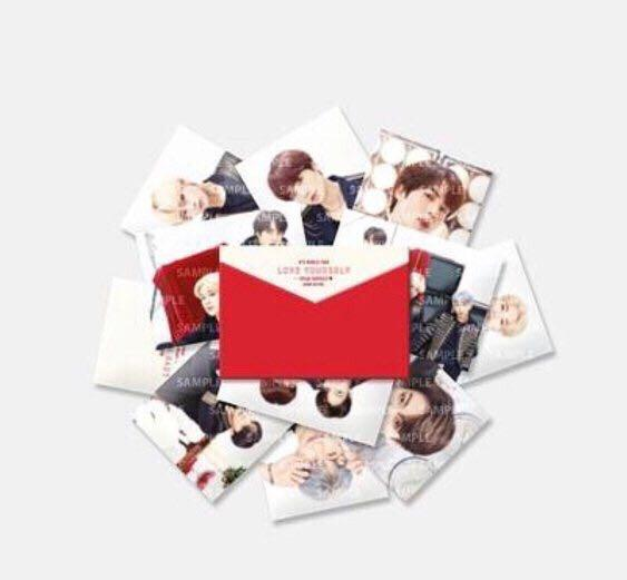 [WTS] BTS LOOSE SPEAK YOURSELF TOUR IN JAPAN MINI PHOTOCARD MERCH