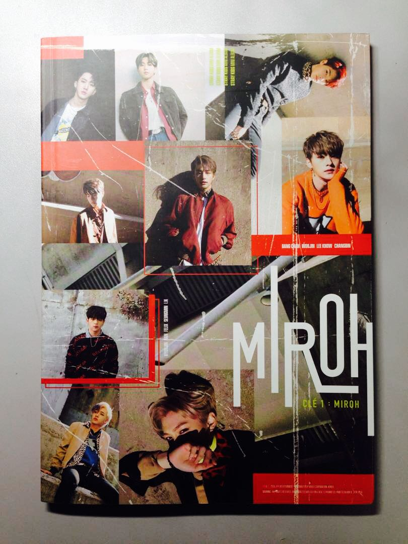 [wts] usealed stray kids cle miroh album