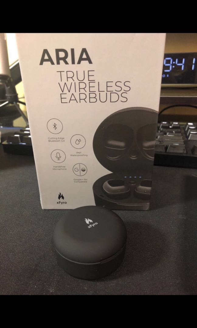 5e47158d2bb (FINAL SET) XFyro Aria True Wireless Earbuds , Electronics, Audio on  Carousell