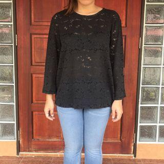 MNG Lace Top
