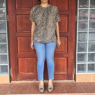 MNG Leopard Top