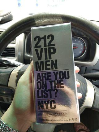 Carolina Hererra 212 Vip Men Nyc Original