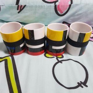 Espresso cups (4 pc set)