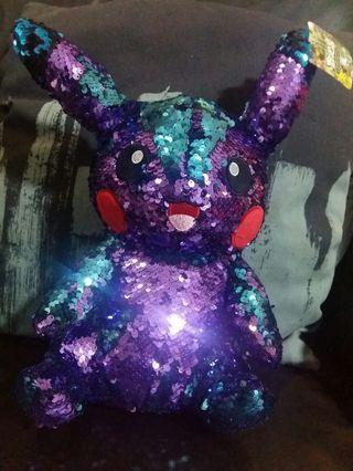 Sales! Shinning Lovely Pikachu. Can Change Colours by Flipping!