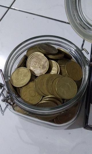 Uang lama 500 tahun 91,93,97