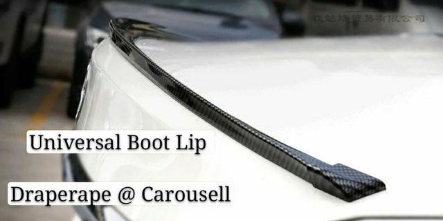Multi colors universal boot lip!f Fits all car models!