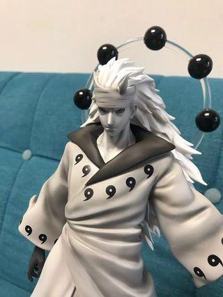全新 六道 斑 宇智波 火影忍者 樹脂gk 模型figure