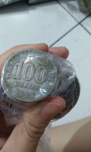 Uang Lama - 100 - 1973