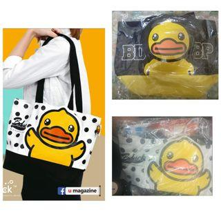 $95/個  可愛黃鴨 B.Duck Shopping Tote