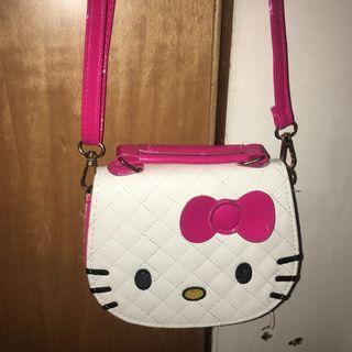 🚚 二手 造型kt貓款側背包