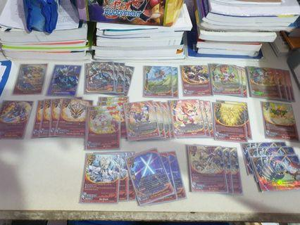 Buddyfight GBoost Full Built With Foil sideboard