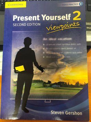 🚚 英文口說 Present yourself 2-2nd edition