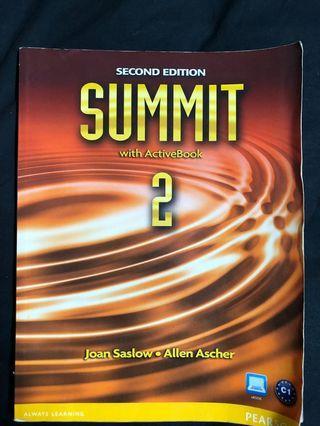 🚚 英文口說 Summit 2nd edition