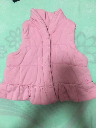 Baby gap 棉背心(0-6m)
