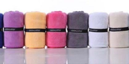 🚚 Extra long microfibre gym towel