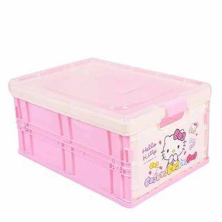 Hello Kitty Stackable Plastic Storage Box