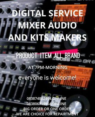 DIGITAL MIXER AUDIO SERVICE