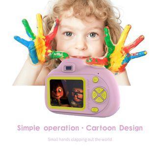 2 Inch Mini Camera Digital Camera Kids Cute Cartoon Multi-function Toy Camera