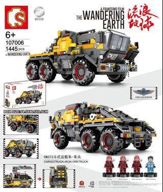 "**New** Sembo 107006: ""The Wardering Earth"" Cargo Truck(1445pcs)"