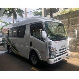 Isuzu ELF Microbus NLR 55 BLX 20 Seat Deluxe New Lieling