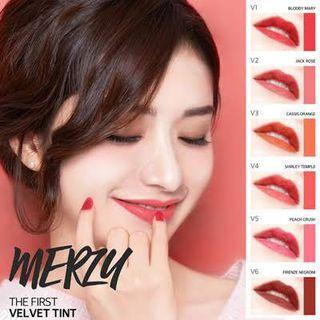 Merzy Velvet Tint in Peach Crush