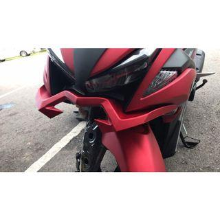 Instock Aerox NVX155 front panel winglet red