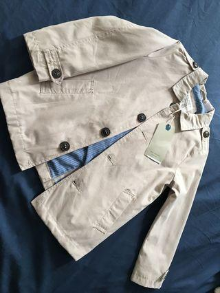 Zara toddler's trench coat