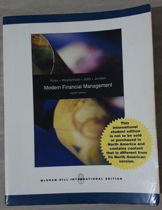 Textbook Original Bahasa Inggris 'Modern Financial Management' 8th International Edition (Pre-Owned)