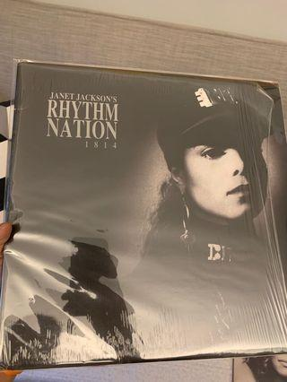 Janet Jackson - Rhythm Nation US first press vinyl LP