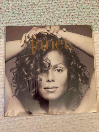 Janet Jackson - janet. UK first press double vinyl LP