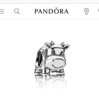 🚚 Pandora Cow Charm