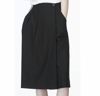 Lalu/iora cotton Black Culottes