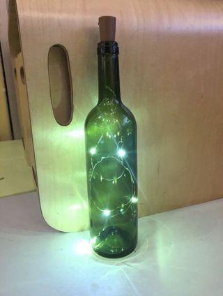 新 紅酒樽擺設 燈 Wine Bottle Display LED