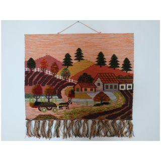 Beautiful Handmade Wall Wool Tapestry