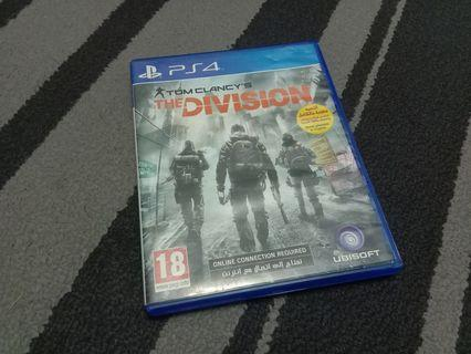 PS4 THE DIVISION (R2)