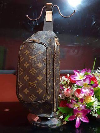 Belt bag lv japan preloved bag with code