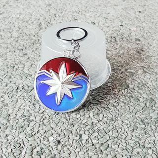 Captain Marvel Shield Keychain