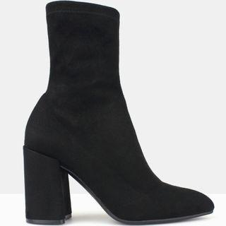 BETTS Sanity Ankle Sock Boots Black