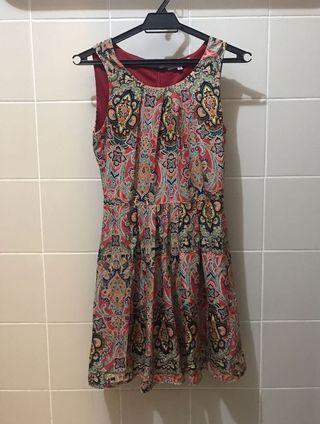 Temt Batik print dress