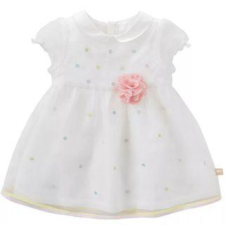 [Free Shipping] New with tag! Premium Branded Dave & Bella Kids Princess Dress White (4T)