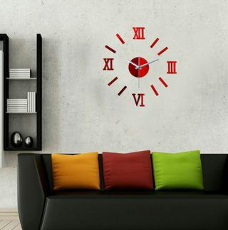 🌟PM for price🌟 🍀New Design 3D Acrylic Wall Clock🍀