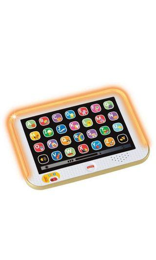 ~Ready Stocked~ Fisher Price Laugh & Learn Smart Stages Tablet - Gold